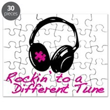 Rockin to a Different Tune Pink Puzzle
