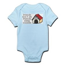 Dog House Infant Bodysuit