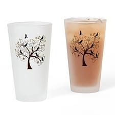 Ravens Tree Drinking Glass