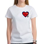 Nurse Heart Women's T-Shirt