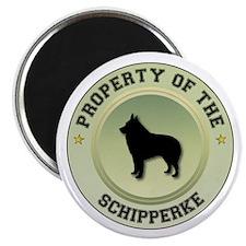 Schipperke Property Magnet