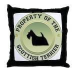 Scotty Property Throw Pillow