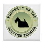 Scotty Property Tile Coaster