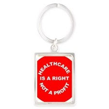 2-button hcright from template Portrait Keychain