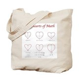 Hearts Curves/Surface Tote Bag