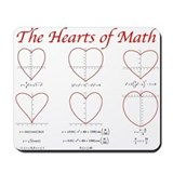 Heart Curves Mousepad