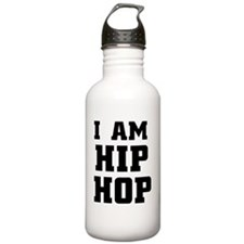 I am hip hop Water Bottle