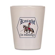 baby knight Shot Glass