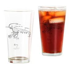 crayfishPNG Drinking Glass