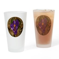 2-ornament Drinking Glass