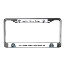 Cute Woman's License Plate Frame