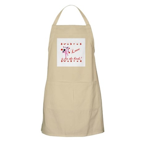 Love is for the Birds BBQ Apron