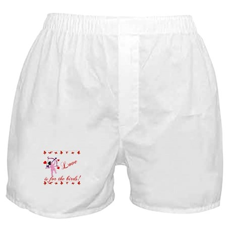 Love is for the Birds Boxer Shorts