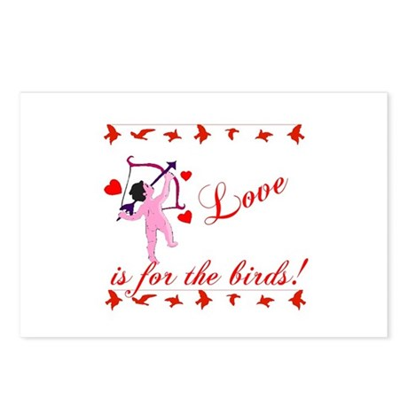 Love is for the Birds Postcards (Package of 8)