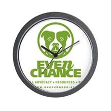 EC_Green_Logo Wall Clock