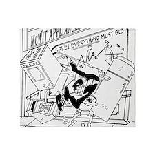3-7730_business_cartoon Throw Blanket