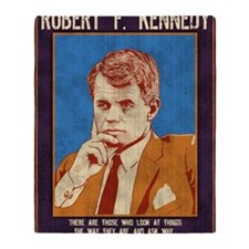 rfk-LG Throw Blanket