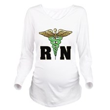 RN / Nurse Long Sleeve Maternity T-Shirt