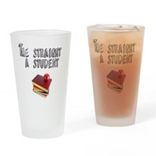 Stright A sTUDENT Drinking Glass