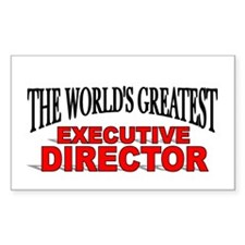 """The World's Greatest Executive Director"" Decal"