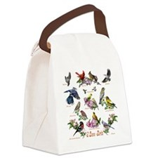 12 X T birds copy Canvas Lunch Bag