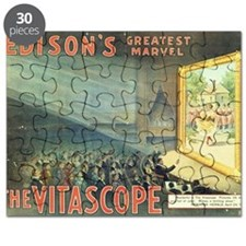 movie poster edison Puzzle