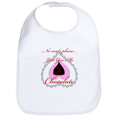 Valentine Chocolate Bib