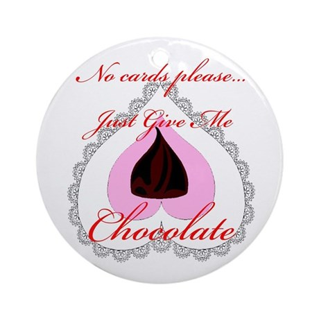 Valentine Chocolate Ornament (Round)