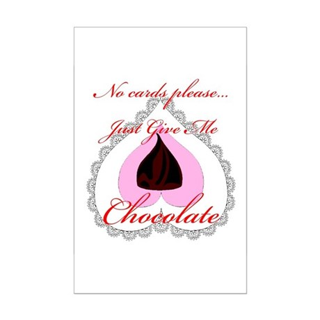 Valentine Chocolate Mini Poster Print
