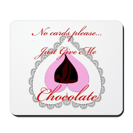Valentine Chocolate Mousepad