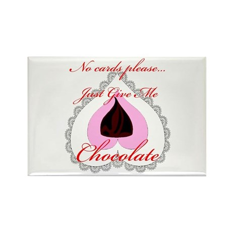 Valentine Chocolate Rectangle Magnet (10 pack)
