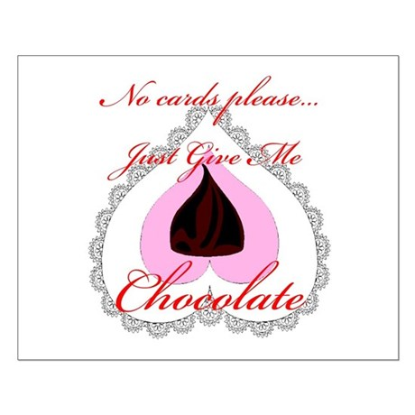 Valentine Chocolate Small Poster