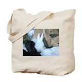 Sea of Bunnies Bunny Rabbits Tote Bag