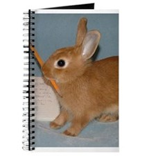 Cute Dwarf Bunny Rabbit Journal