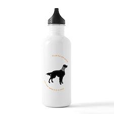 Setter Cone Black Sports Water Bottle