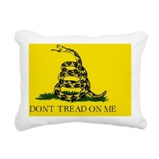 dont tread yard sign 1 Rectangular Canvas Pillow