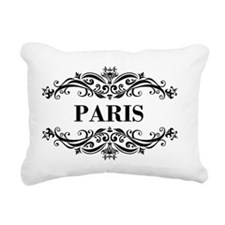 Paris_big Rectangular Canvas Pillow