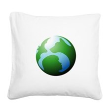 english wrd forever white tex Square Canvas Pillow
