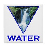 Water Element Tile Coaster