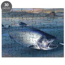 Early bite salmon Puzzle