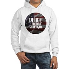 Peace Through Stength Hoodie