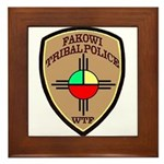 Fakowi Tribal Police Framed Tile