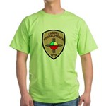 Fakowi Tribal Police Green T-Shirt