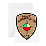 Fakowi Tribal Police Greeting Cards (Pk of 10)