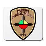 Fakowi Tribal Police Mousepad