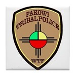 Fakowi Tribal Police Tile Coaster
