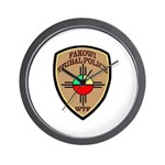 Fakowi Tribal Police Wall Clock