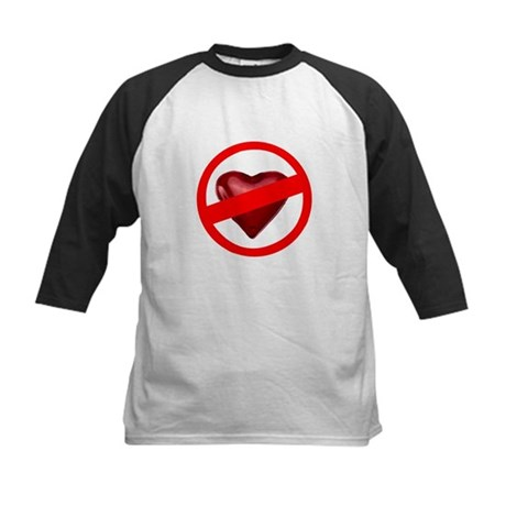 No Love Kids Baseball Jersey