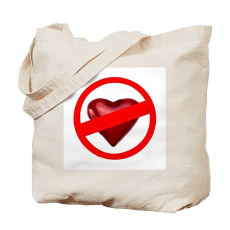 No Love Tote Bag