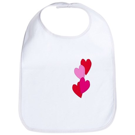 Candy Hearts Bib